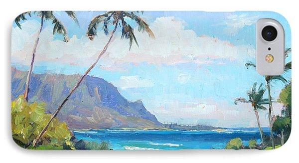 hanalei Bay Resort View IPhone Case by Jenifer Prince