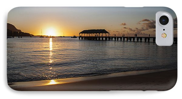 Hanalei Bay Sunset Phone Case by Brian Harig