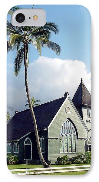 Hanalei Church 2 IPhone Case by John Bushnell