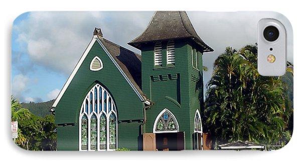Hanalei Church IPhone Case by John Bushnell