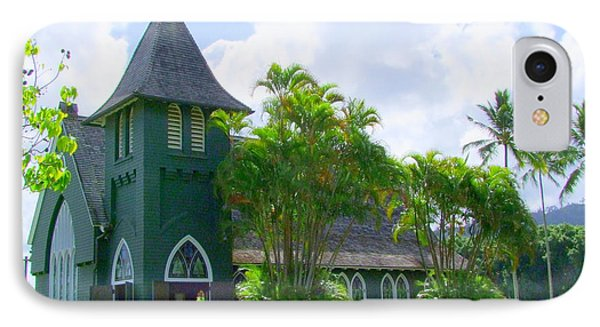 Hanalei Church Phone Case by Mary Deal