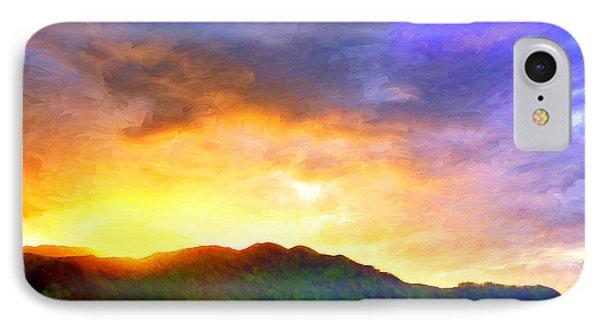 Hanalei Sunset IPhone Case