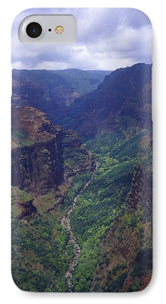 Hanapepe Valley I IPhone Case by Morris  McClung