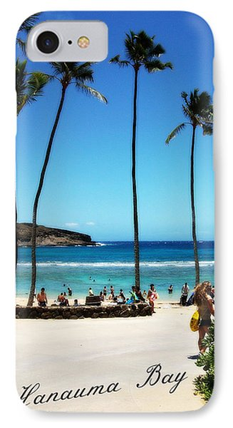 IPhone Case featuring the photograph Hanauma Bay by Mindy Bench