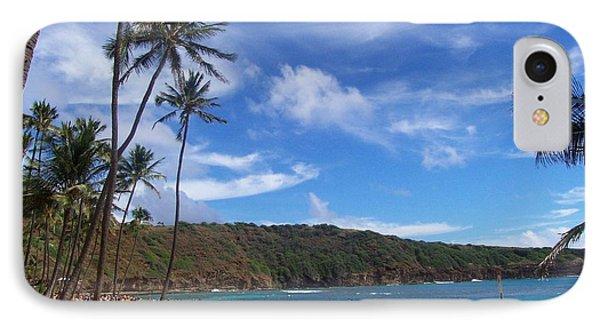 Hanauma Bay Oahu Hawaii IPhone Case by Kenneth Cole