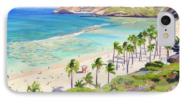 Hanauma Bay - Oahu IPhone Case by Steve Simon