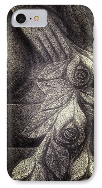 Hand And Roses IPhone Case