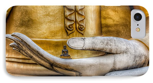 Hand Of Buddha Phone Case by Adrian Evans