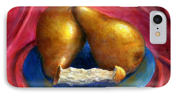 Hand Painted Art Fruit Still Life Pears IPhone Case