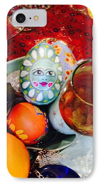 IPhone Case featuring the photograph Hand Painted Eggs- Azadeh by Shirin Shahram Badie