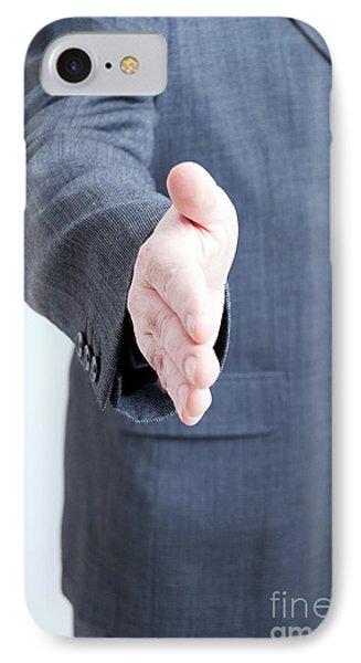 Hand Shake Gesture IPhone Case