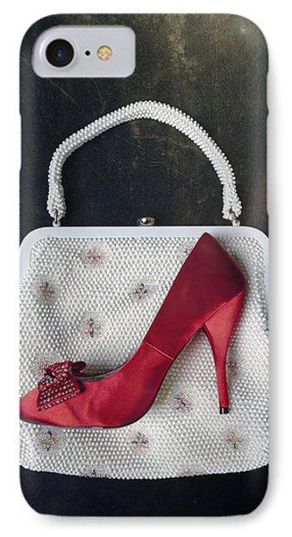 Handbag With Stiletto Phone Case by Joana Kruse