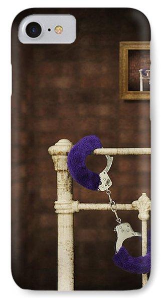 Handcuffs Phone Case by Amanda Elwell