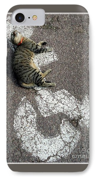 Handicat Parking IPhone Case
