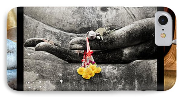Hands Of Buddha IPhone Case by Adrian Evans