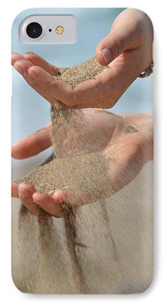 Hands Of Sands IPhone Case by Deprise Brescia