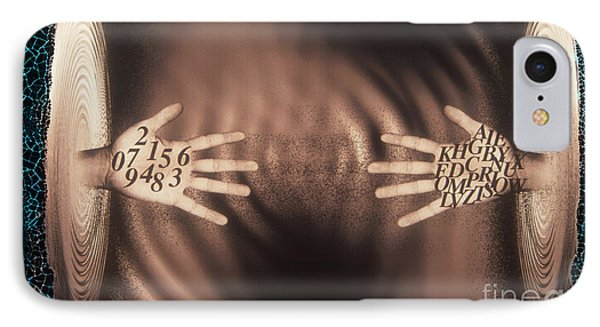 Hands Reaching Across Abyss IPhone Case