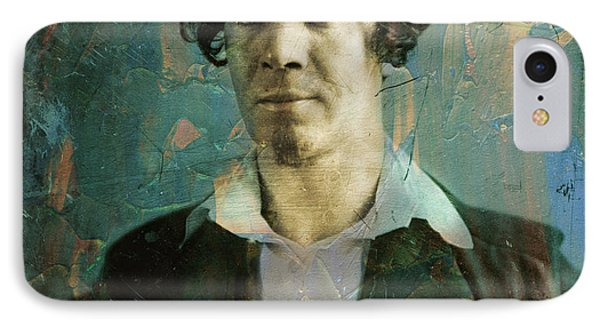Handsome Fellow 1 IPhone Case by James W Johnson