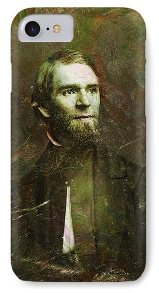 Handsome Fellow 2 IPhone Case by James W Johnson