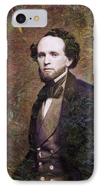 Handsome Fellow 3 IPhone Case by James W Johnson