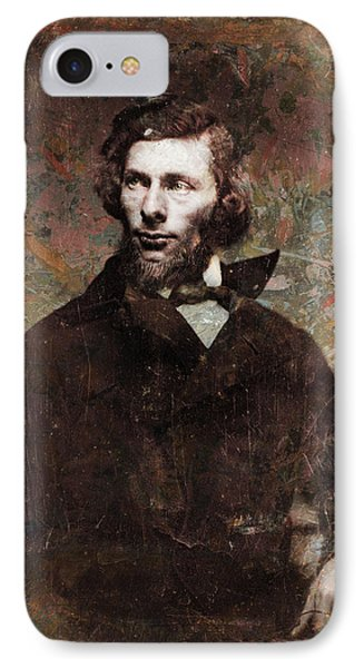 Handsome Fellow 4 IPhone Case by James W Johnson