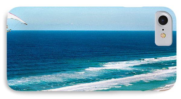 Hang Glider Over The Sea IPhone Case