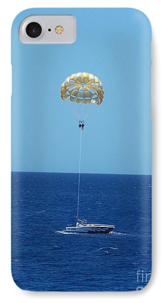 IPhone Case featuring the photograph Hang Gliding Fun by Brigitte Emme