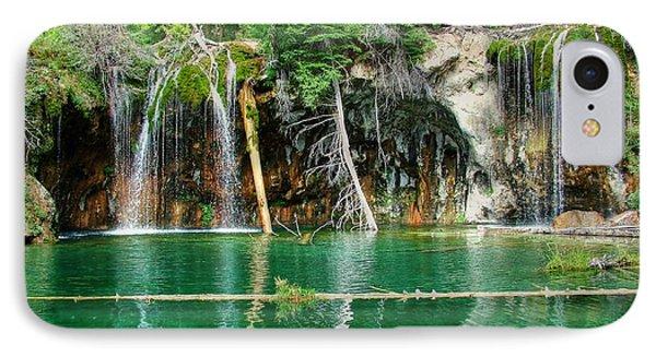 Hanging Lake 1 IPhone Case by Ken Smith