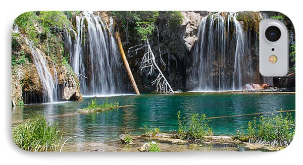 IPhone Case featuring the photograph Hanging Lake - Colorado by Aaron Spong