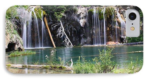 Hanging Lake IPhone Case by Eric Glaser