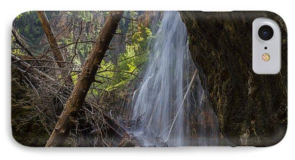 Hanging Lake Falls Phone Case by Michael J Bauer