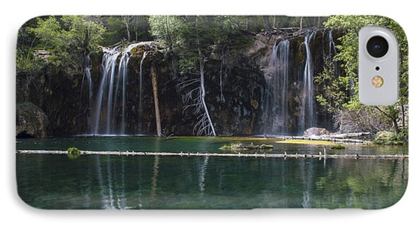 Hanging Lake IPhone Case by Michael J Bauer