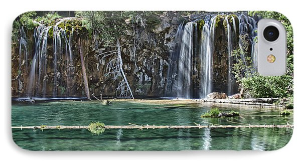IPhone Case featuring the photograph Hanging Lake by Priscilla Burgers