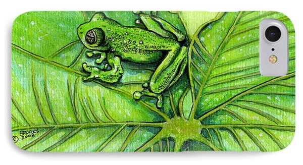 Hanging Out By Richard Brooks. IPhone Case