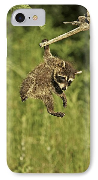Hanging Out Phone Case by Jack Milchanowski