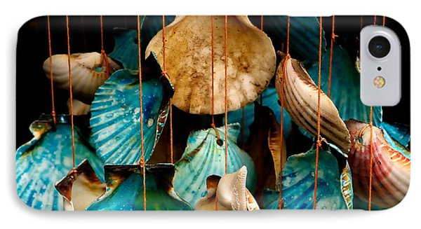 Hanging Together - Sea Shell Wind Chime Phone Case by Steven Milner