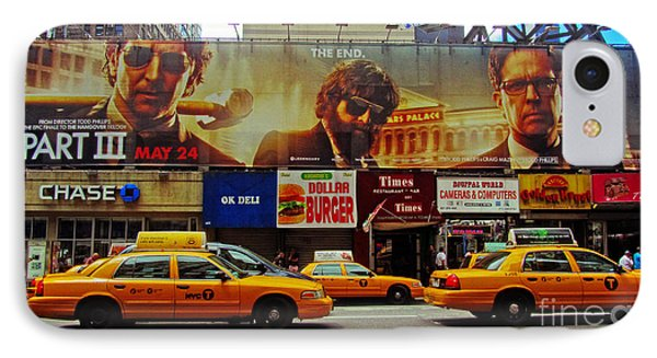 Hangover Movie Poster In New York City IPhone Case