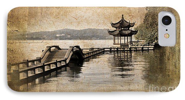 Shanghai iPhone 7 Case - Hangzhou Lake by Delphimages Photo Creations