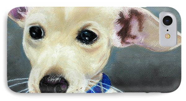 IPhone Case featuring the painting Hank by Jeanne Fischer