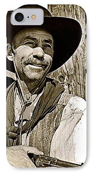 Hank Worden Publicity Photo Red River 1948-2013 IPhone Case by David Lee Guss