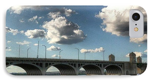 Hanover Street Bridge IPhone Case by Toni Martsoukos