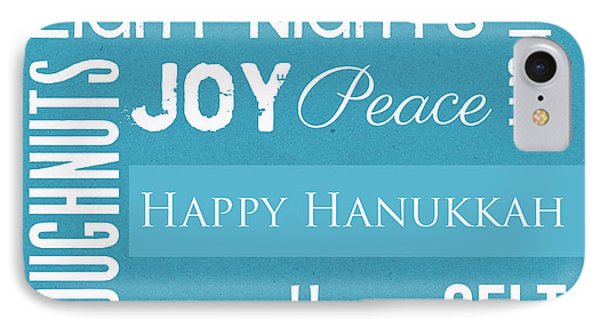 Hanukkah Fun Phone Case by Linda Woods