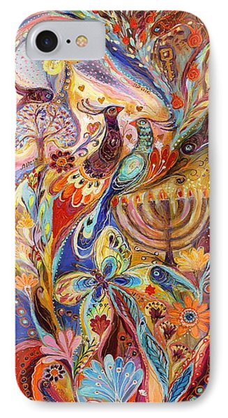 Hanukkah In Magic Garden IPhone Case
