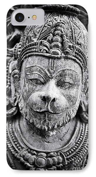 Hanuman Monochrome IPhone Case