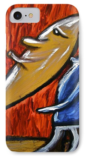 IPhone Case featuring the painting Happiness 12-006 by Mario Perron