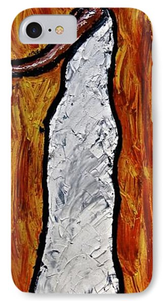 IPhone Case featuring the painting Happiness 12-012 by Mario Perron