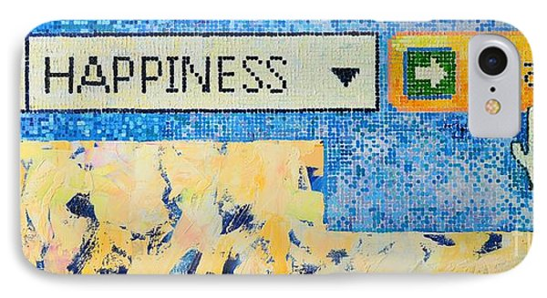 Happiness IPhone Case by Ana Maria Edulescu