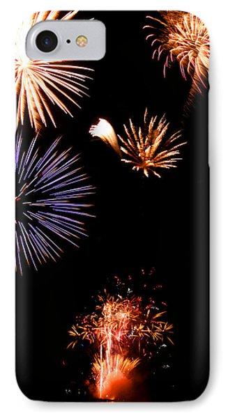 Happy 4th Of July IPhone Case by Brook Burling