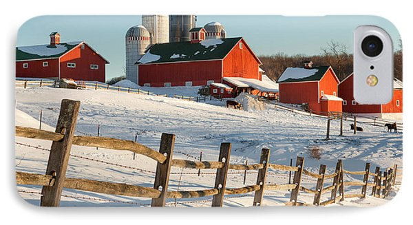 Happy Acres Farm Phone Case by Bill Wakeley