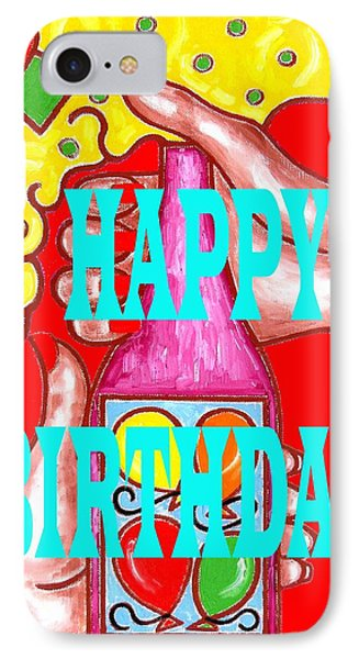 Happy Birthday 1 Phone Case by Patrick J Murphy